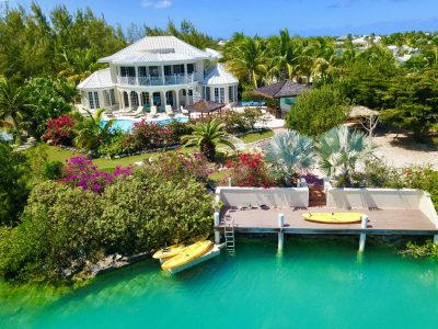 Turks Caicos Homes For Sale Leeward Waterfront