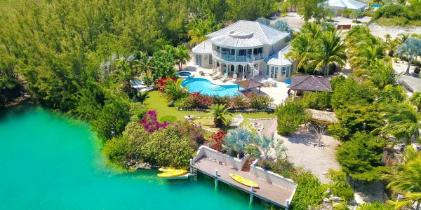 Leeward Waterfront Villa Homes For Sale Real Estate Turks Caicos