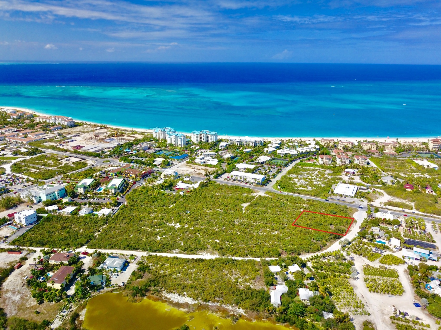 Land For Sale in Grace Bay - Lot 93 - Real Estate Turks and