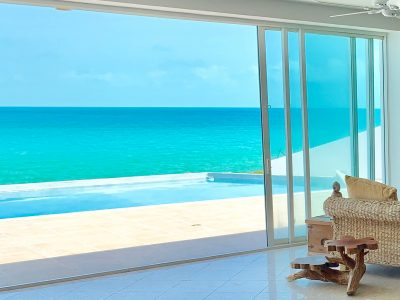 Turks Caicos Real Estate Casa Loca Waterfront Home For Sale