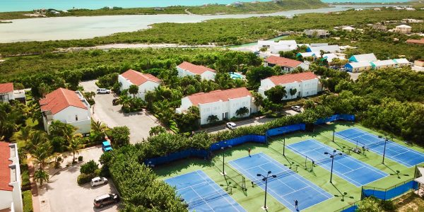 Flamingo Park Townhome For Rent Turks Caicos