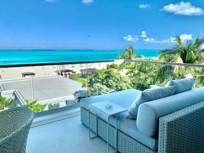Beachfront Grace Bay Wymara Condo For Sale
